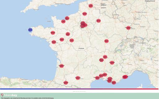 Времето в Франция в Септември 2020. Пътеводител и съвети. Прочетете преглед на климата. hikersbay.com