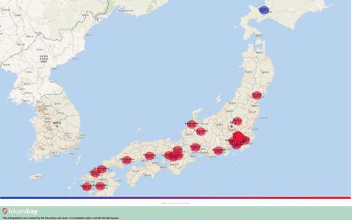 9 월 2020 에서 일본 에 날씨입니다. 여행 가이드 및 조언. 기후에 대 한 개요를 읽어 보시기 바랍니다. hikersbay.com