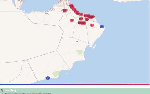 Météo en Oman en septembre 2020. Guide de voyage et des conseils. Lire un aperçu du climat. hikersbay.com