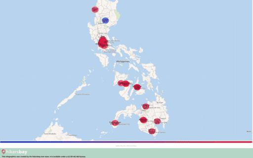 Vädret i Filippinerna i September 2020. Reseguide och råd. Läs en översikt över klimatet. hikersbay.com