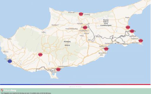 Météo en Chypre en septembre 2020. Guide de voyage et des conseils. Lire un aperçu du climat. hikersbay.com
