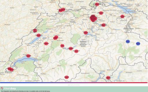 Météo en Suisse en septembre 2020. Guide de voyage et des conseils. Lire un aperçu du climat. hikersbay.com