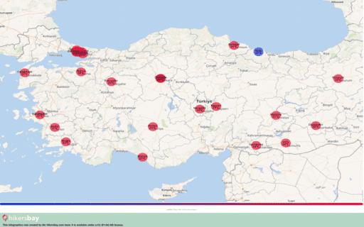 Weer in Turkije in September 2020. Reisgids en adviezen. Lees een overzicht over het klimaat. hikersbay.com